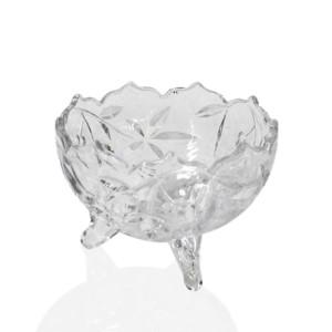 Crystal bowls 3 feet small