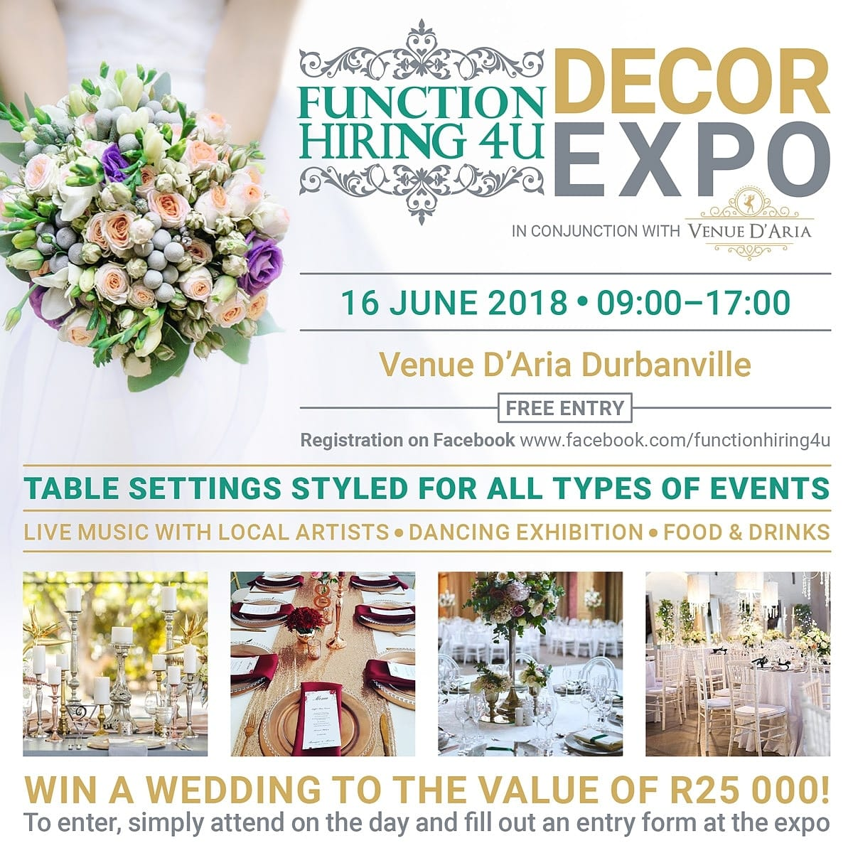 Function Hiring 4U Decor Expo